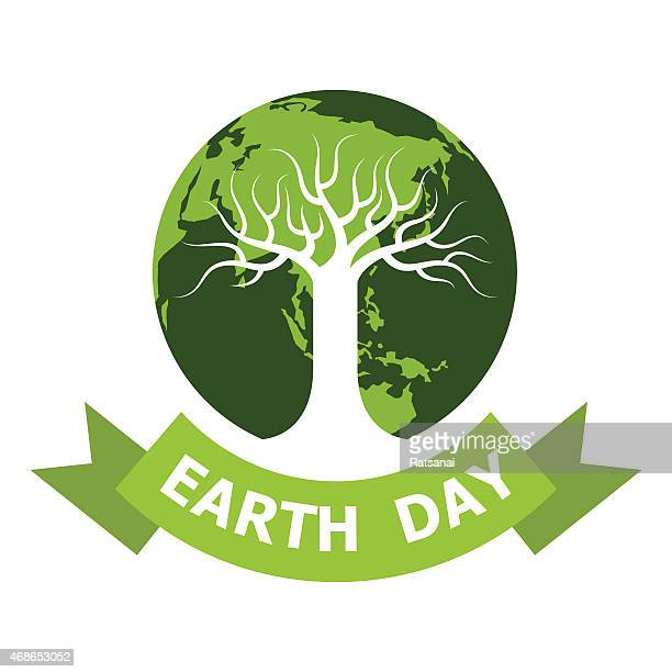 earth day icon - earth day stock illustrations