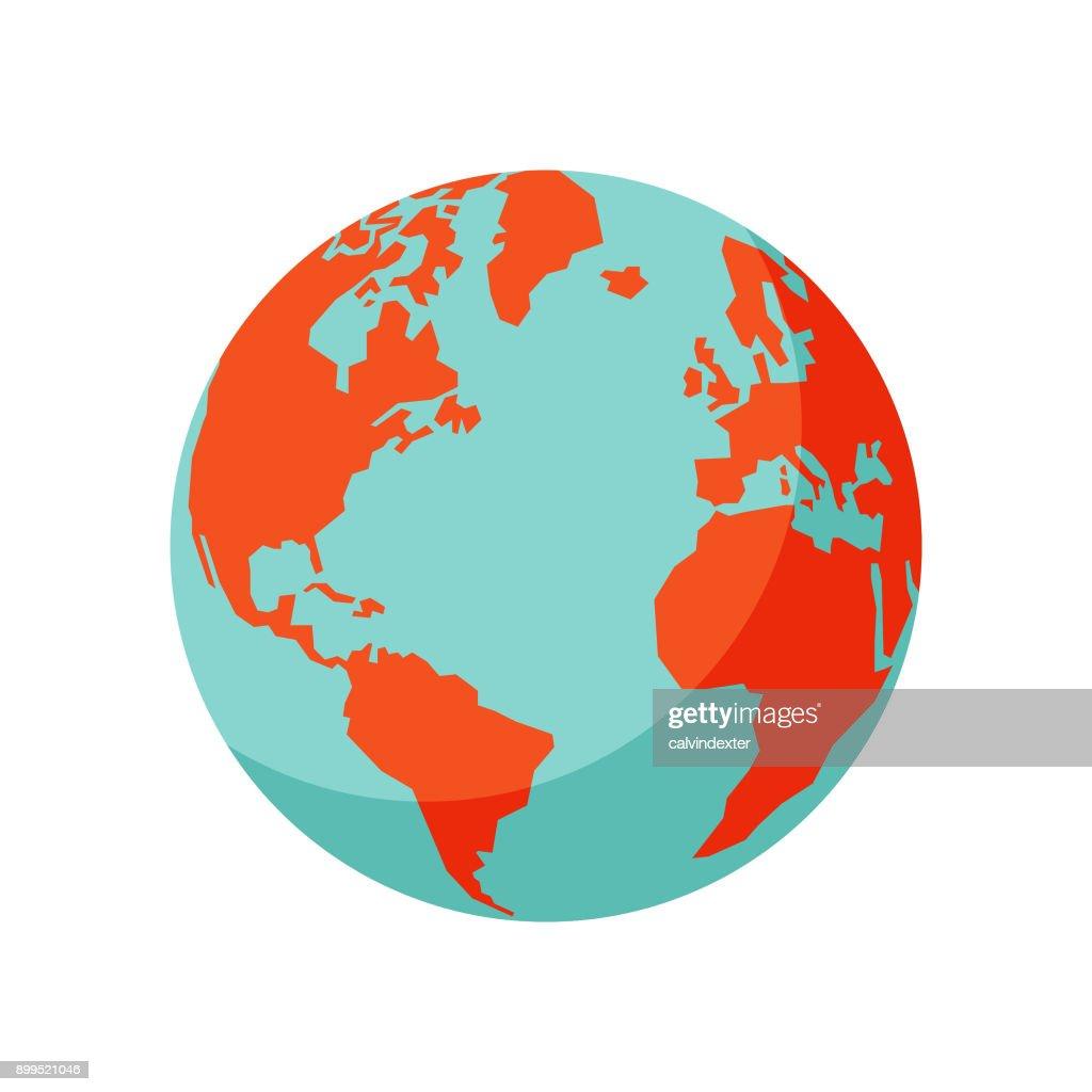 Globo de tierra : Ilustración de stock