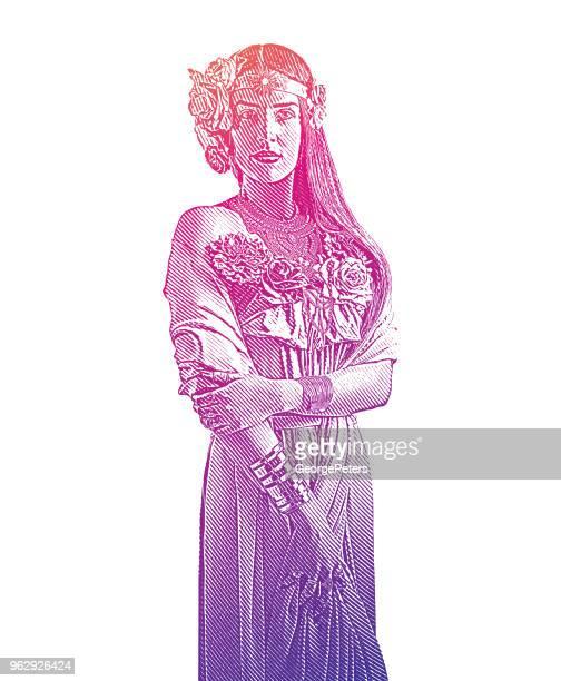 earth goddess - me too social movement stock illustrations, clip art, cartoons, & icons