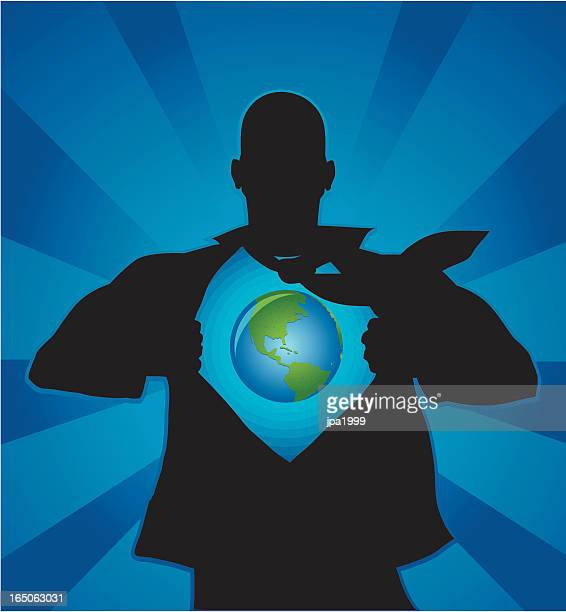 earth in me - chest torso stock illustrations, clip art, cartoons, & icons