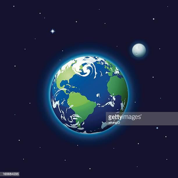Erde & Moon