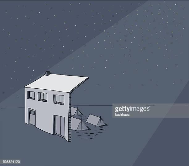 Earthquake Insurance - illustration