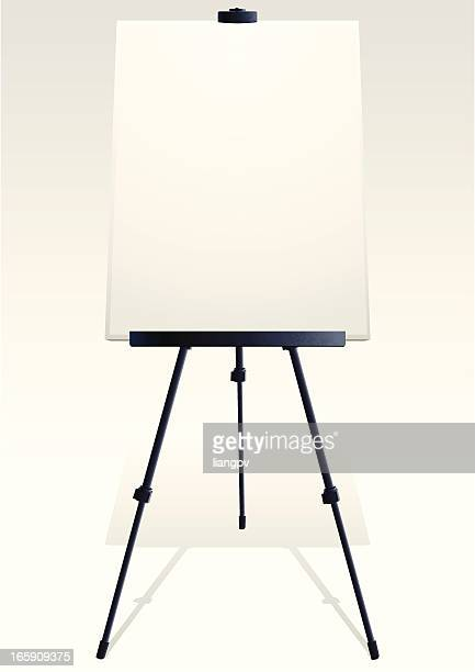 easel & tripod - camera tripod stock illustrations, clip art, cartoons, & icons
