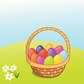 Empty Easter Basket Clip Art Download 385 Arts Page 1