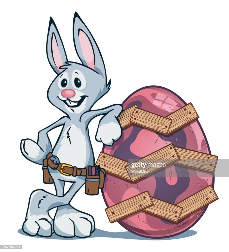Easter Bunny Carpenter
