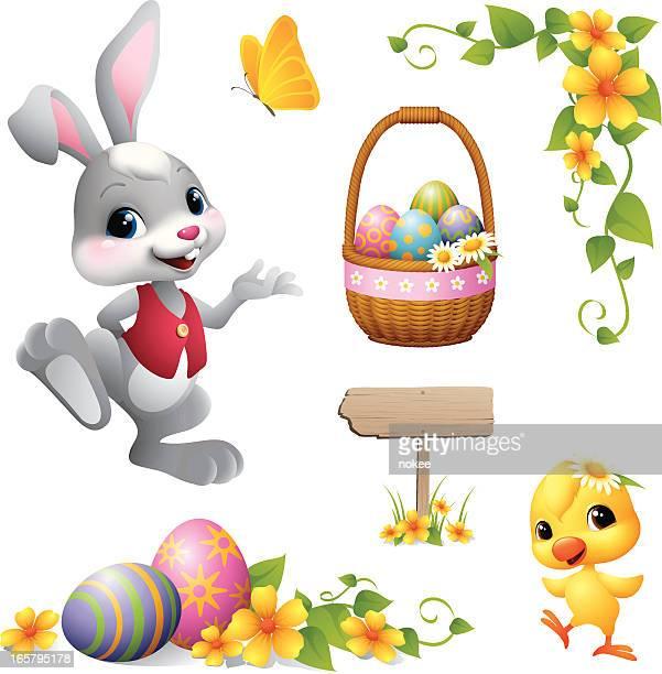 Easter Bunny - design element