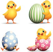 Easter Chick set