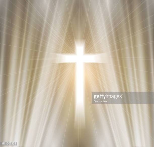 easter christian background resurrection - crucifix stock illustrations, clip art, cartoons, & icons