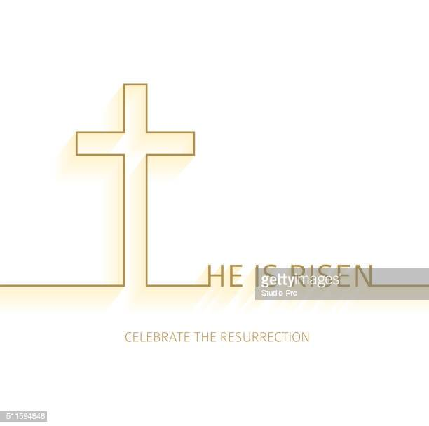 easter christian background resurrection - easter religious stock illustrations