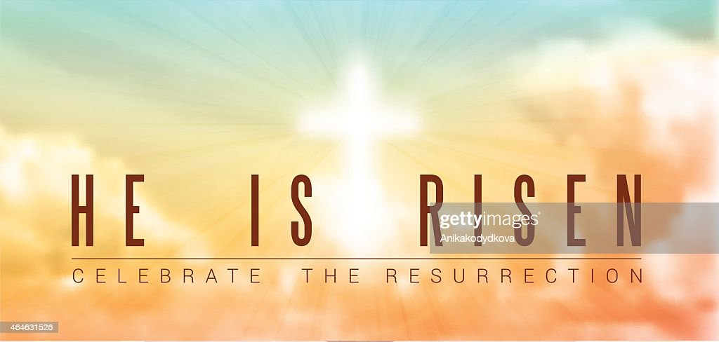 easter christian motive, resurrection