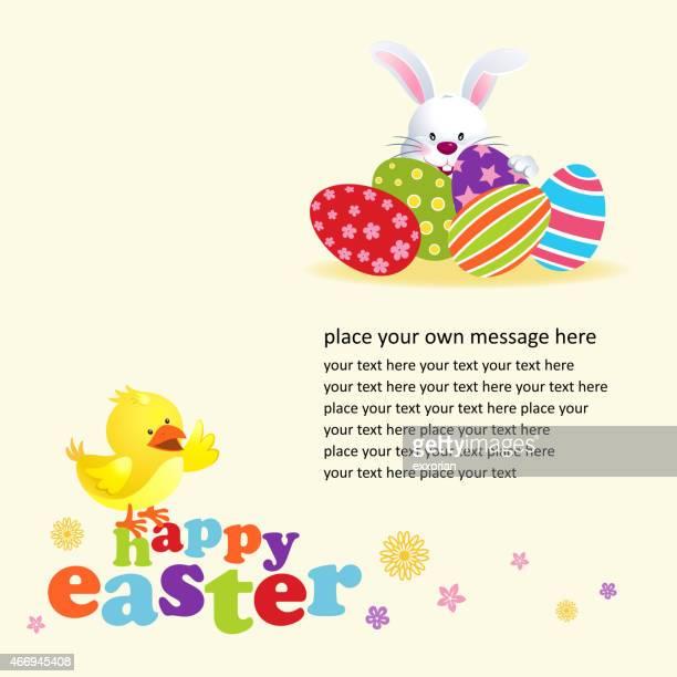 easter egg hunt notice - easter egg hunt stock illustrations, clip art, cartoons, & icons