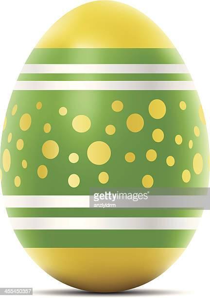 easter egg - easter egg stock illustrations, clip art, cartoons, & icons