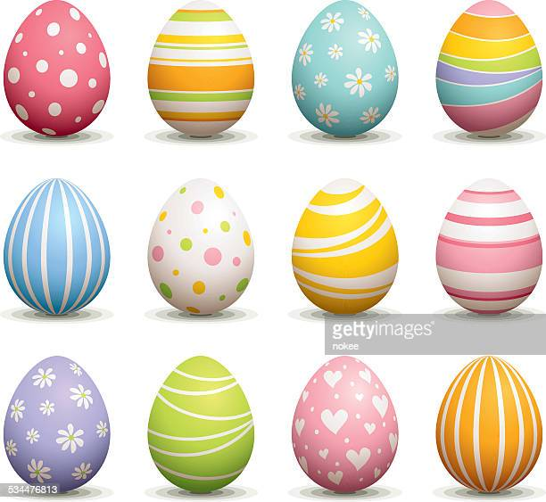 easter egg - easter stock illustrations