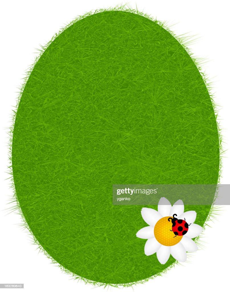 Easter eggs card. vector illustration