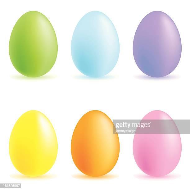 easter eggs - easter egg stock illustrations
