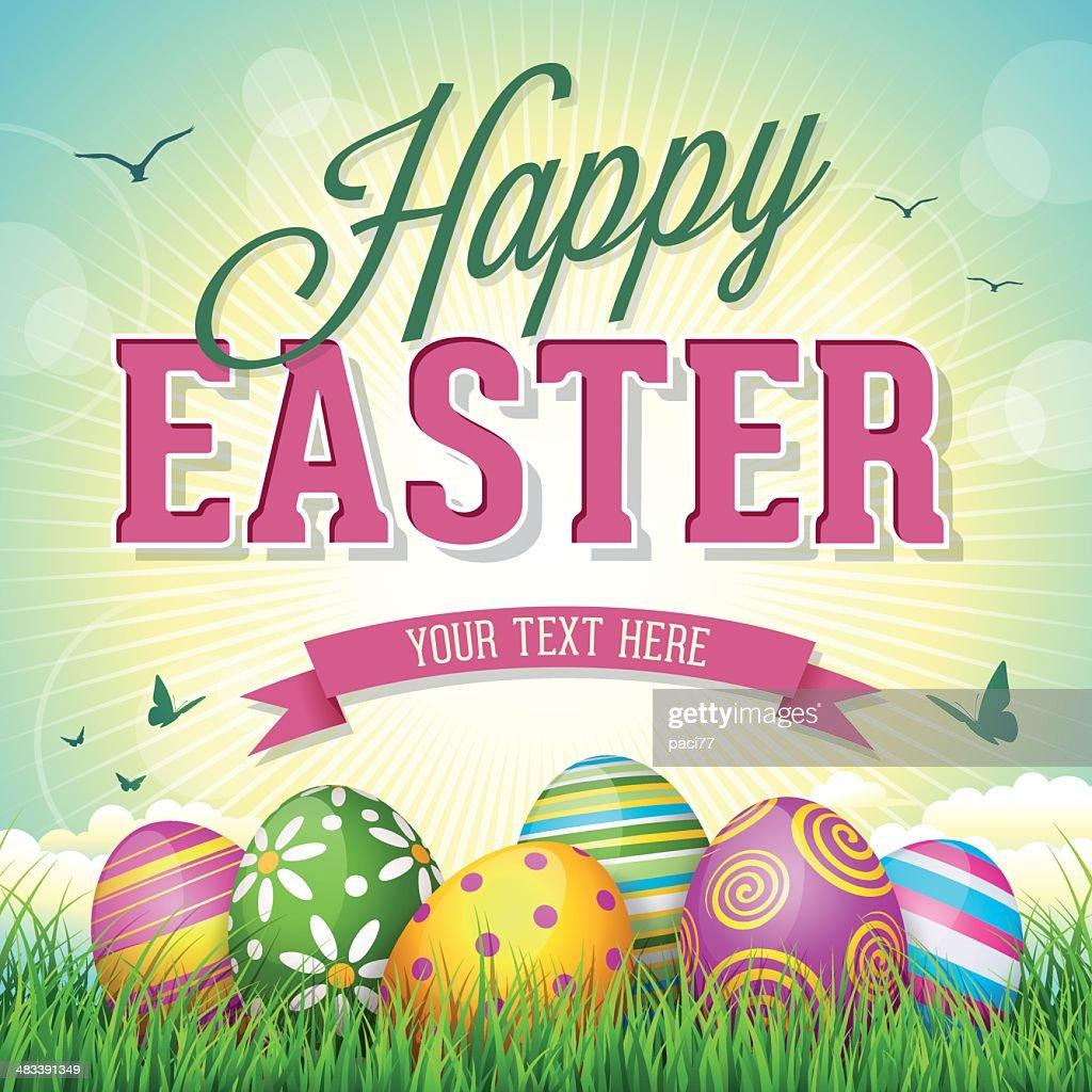 Easter Eggs : Vector Art