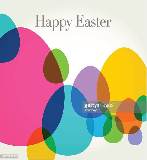 easter greeting - easter stock illustrations
