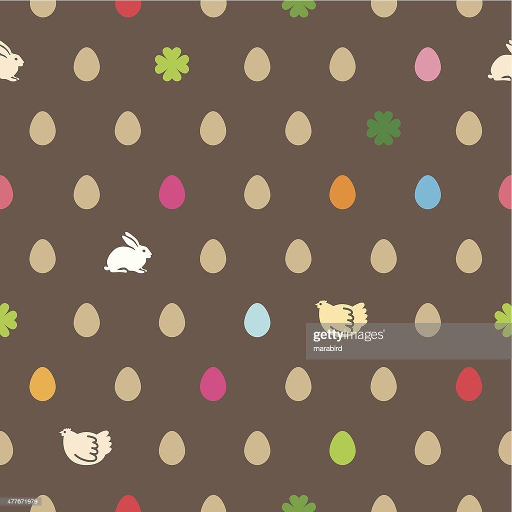 easter pattern : Vector Art