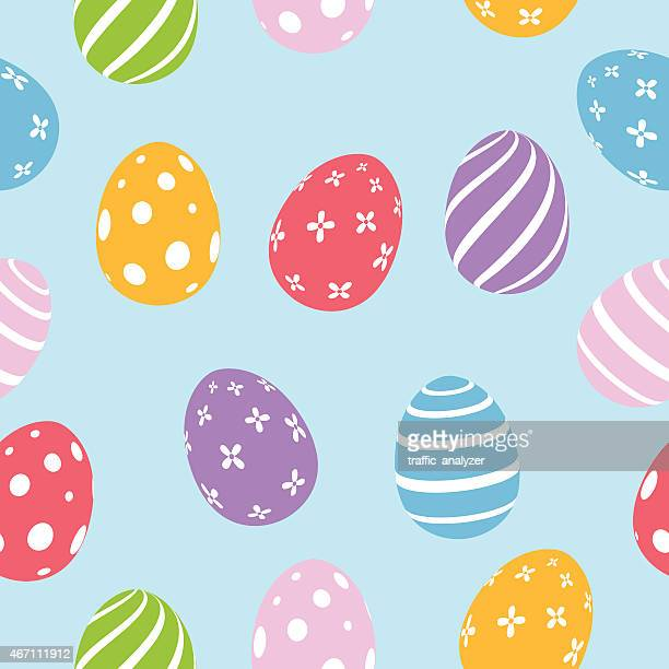 Easter seamless background