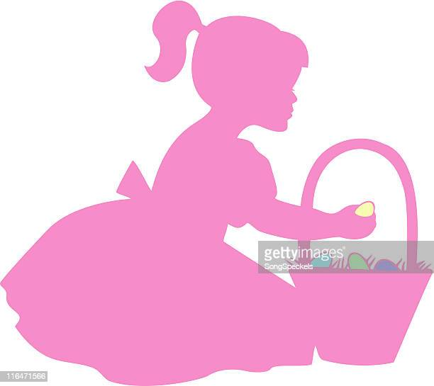easter silhouette - sunday best stock illustrations, clip art, cartoons, & icons