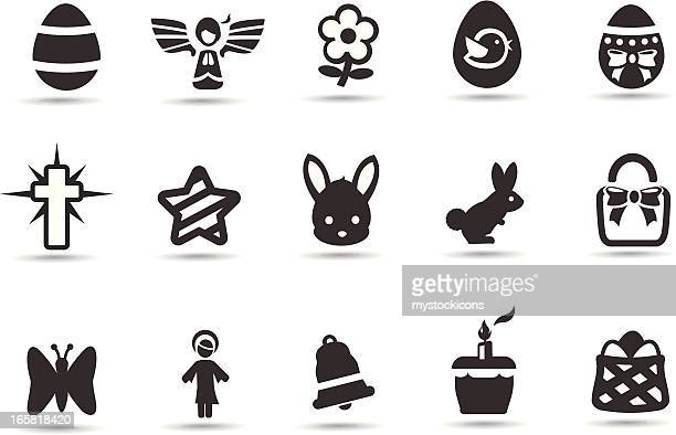 Easter Spring Icons