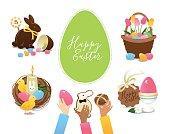 Easter symbols and treats