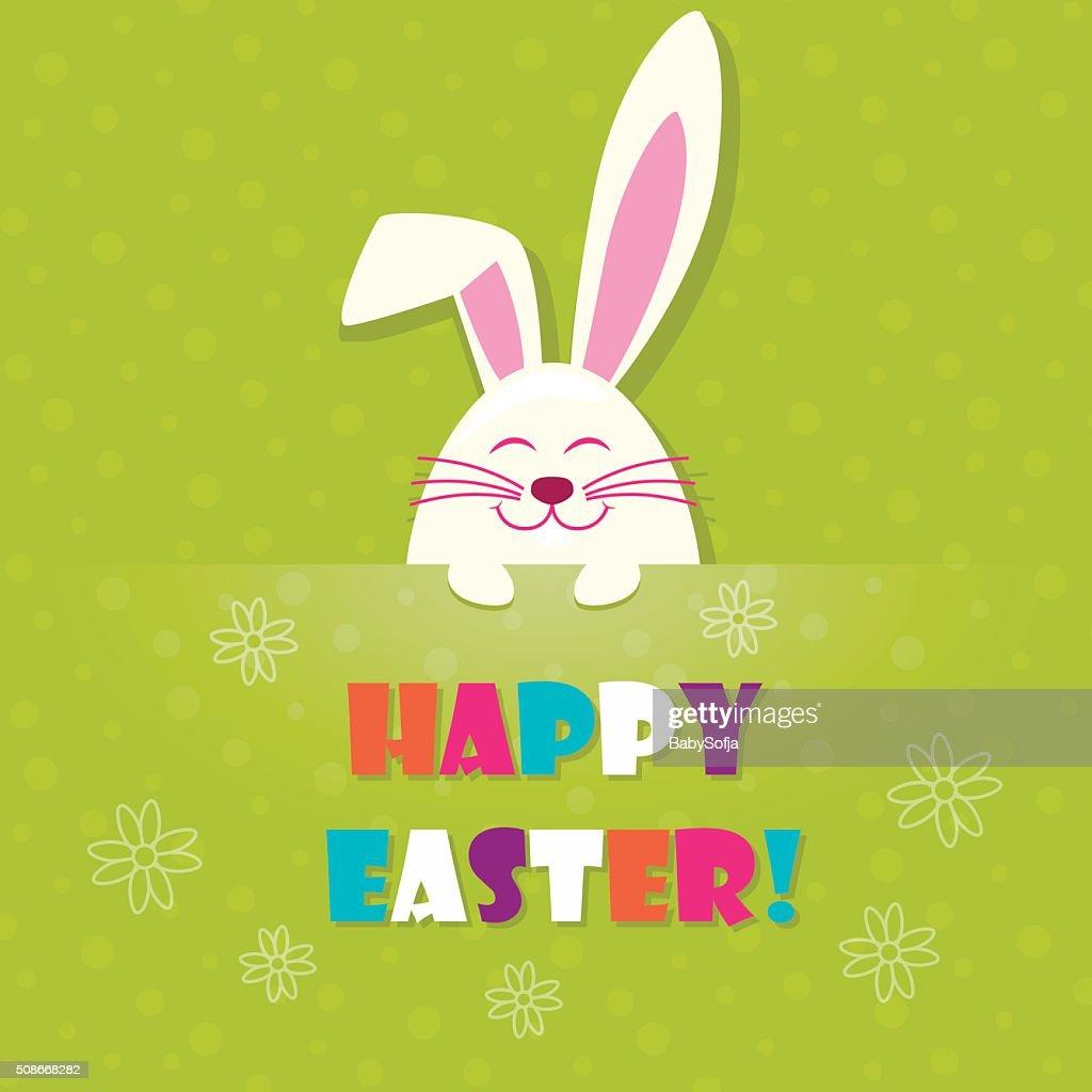 Easter Vector Rabbit Vector