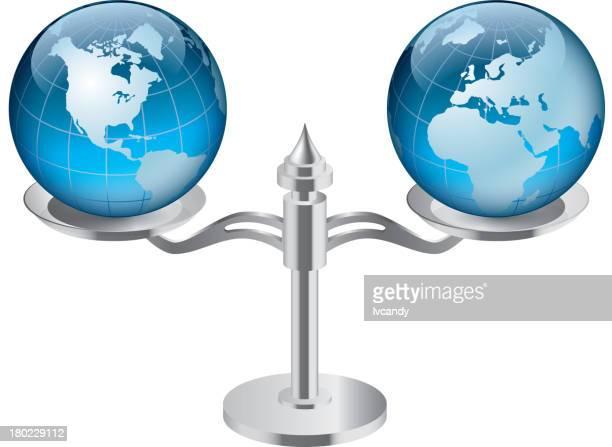 Eastern and Western Hemisphere