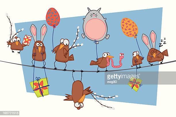 Easter's Birds
