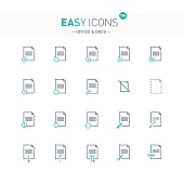 Easy icons 18e Docs