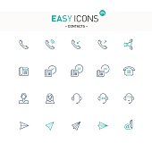 Easy icons 27e Contacts