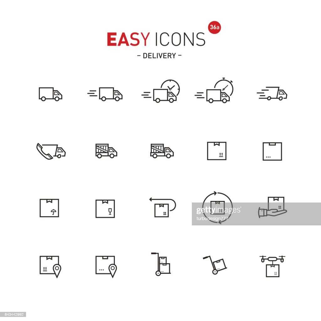 Easy icons 36a Delivery