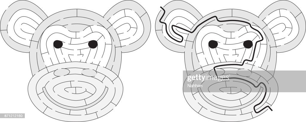 Easy monkey maze