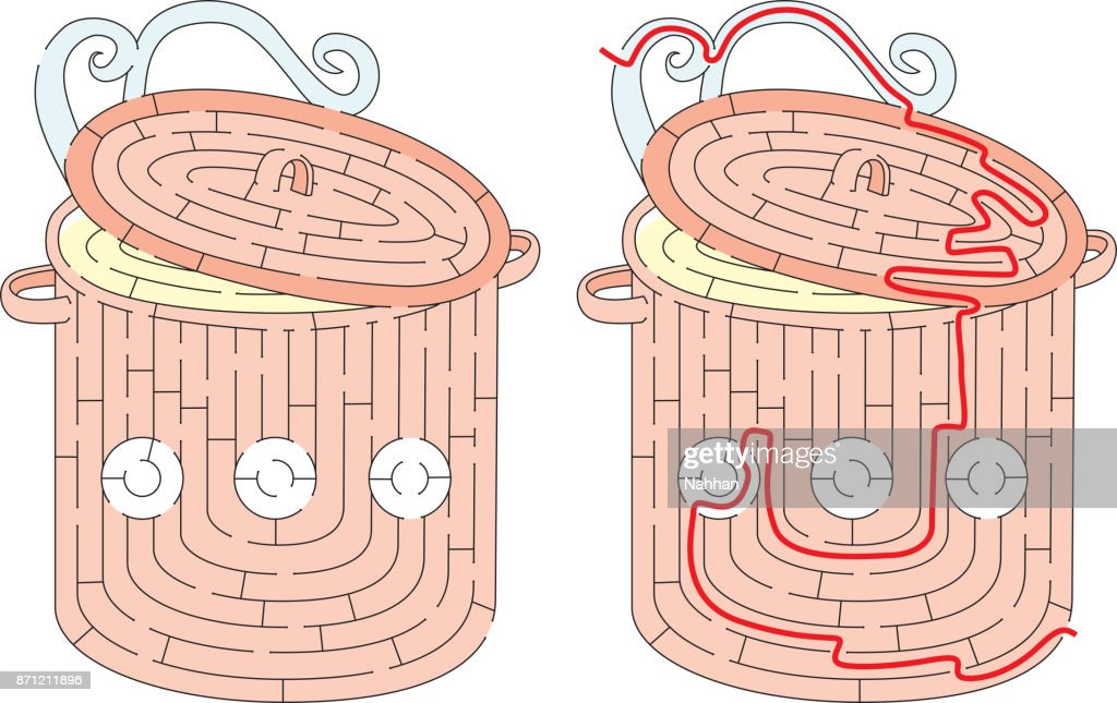 Easy pot maze