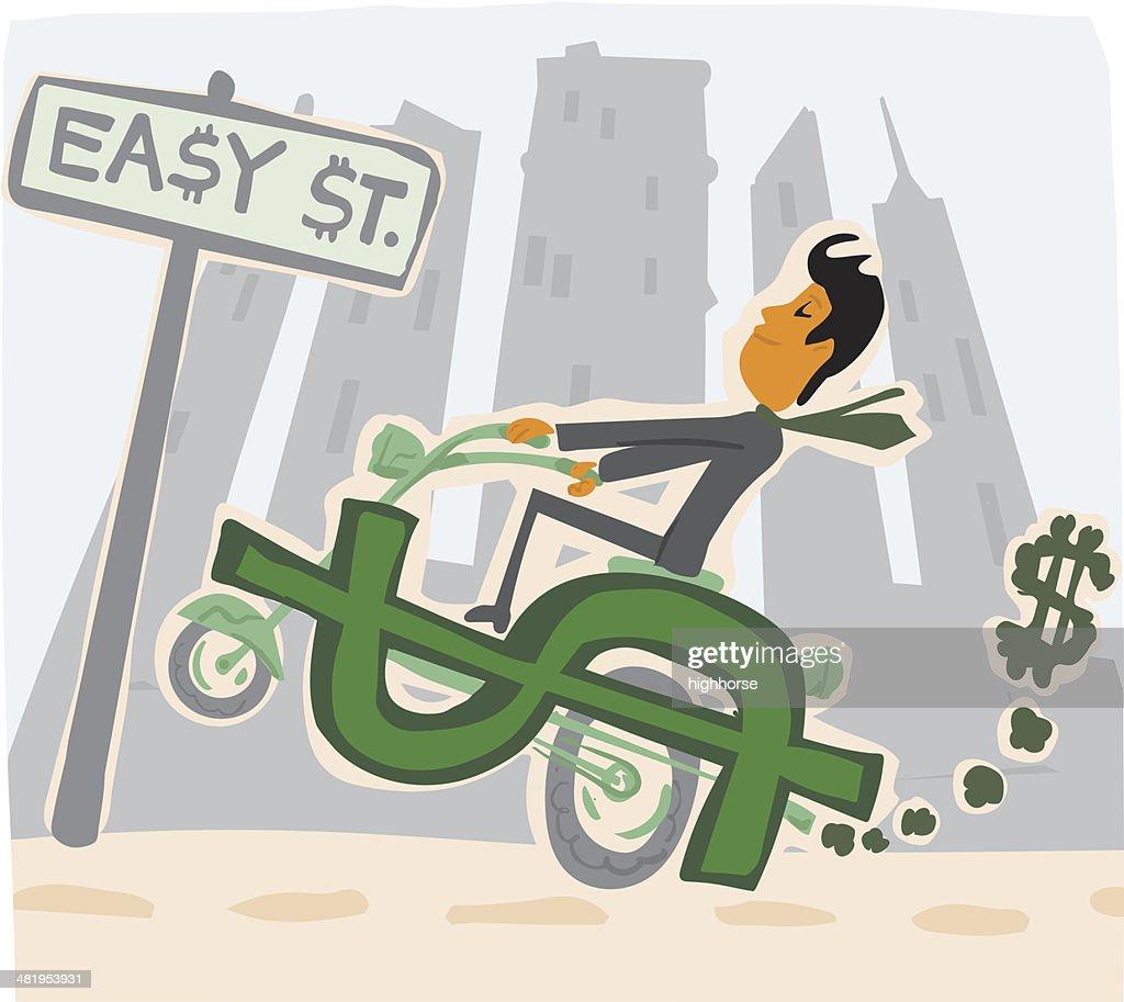 Easy Street : stock illustration