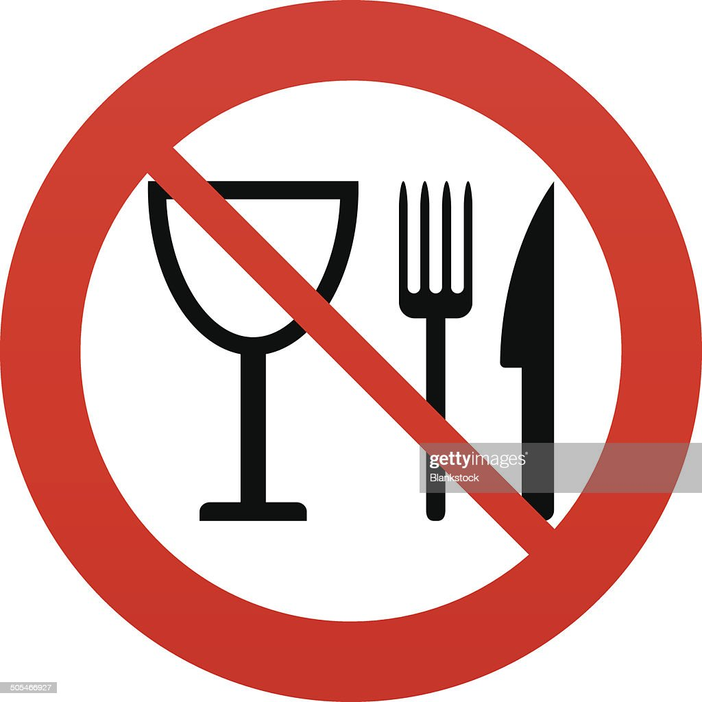 Eat Sign Icon Knife Fork And Wineglass Vector Art Getty Images