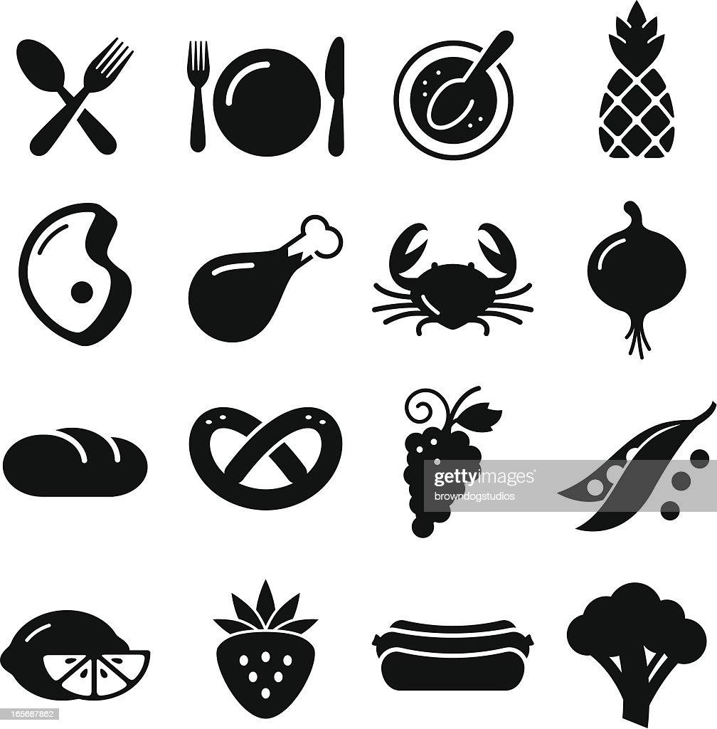 Eating Icons - Black Series