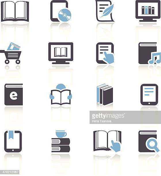 eBook und Literatur-Icons