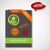 ebook markers - stickers, corners, labels