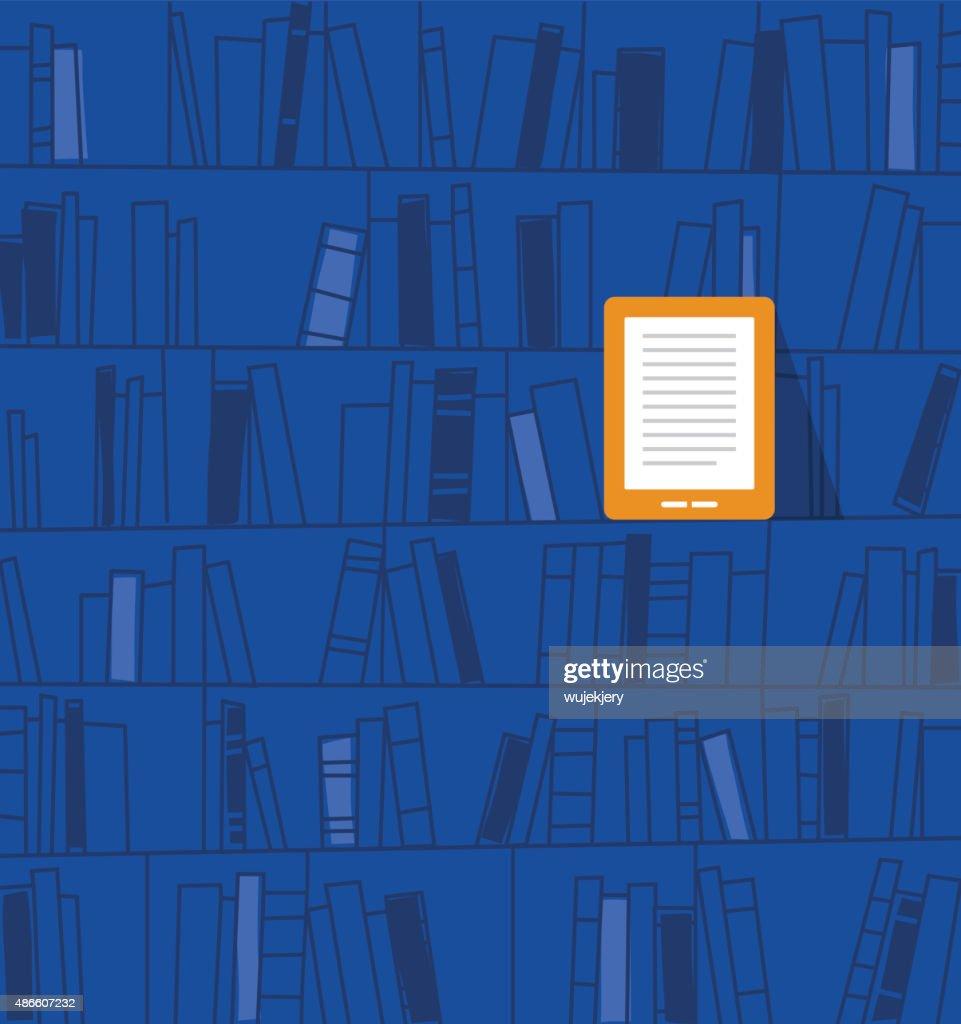 Ebook を保管します。TM : ストックイラストレーション