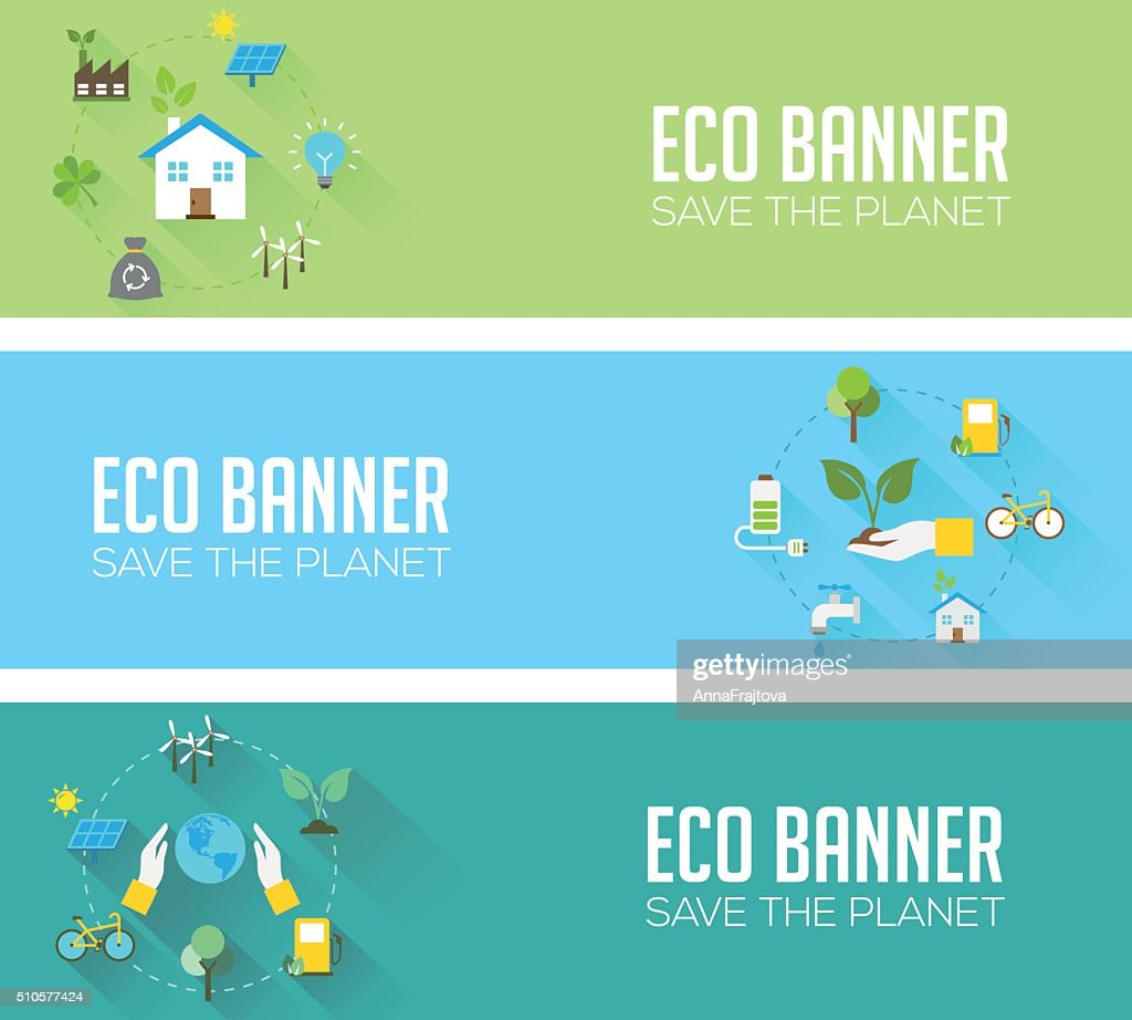 Eco Banners - Nature Protection