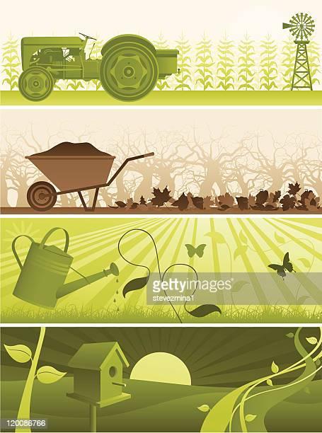 eco banners - zea stock illustrations, clip art, cartoons, & icons