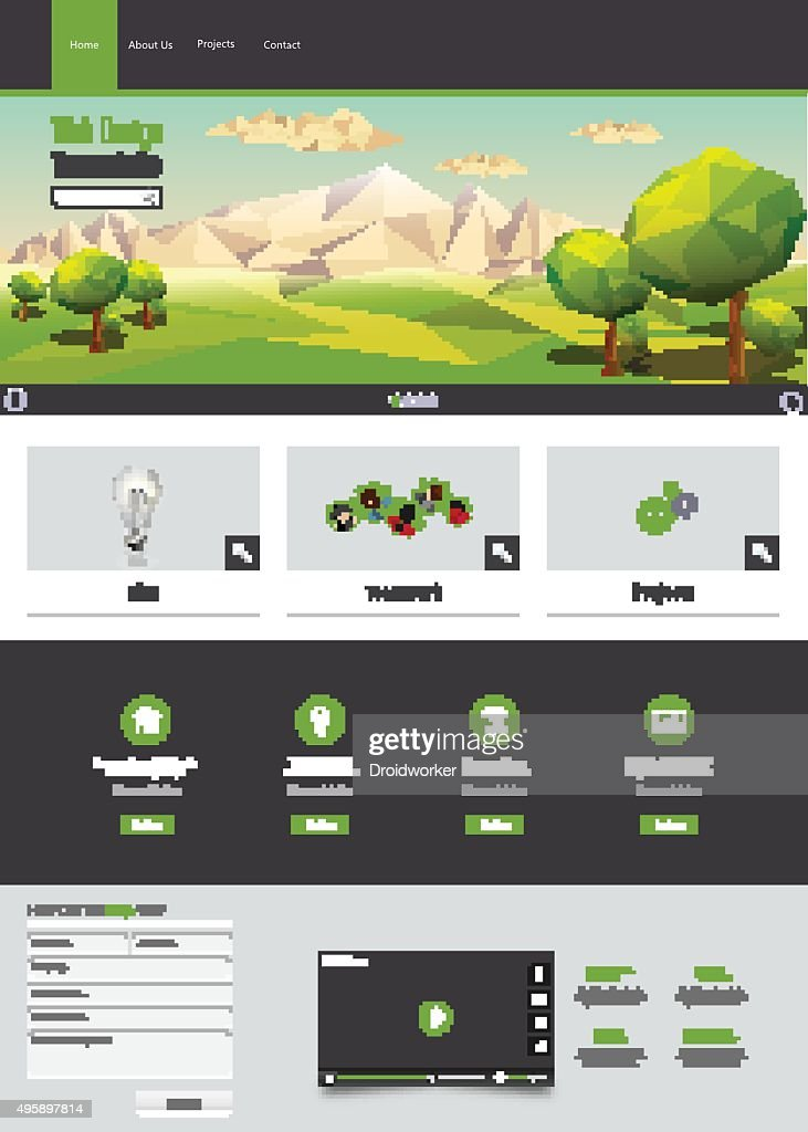 Eco Business Website Template