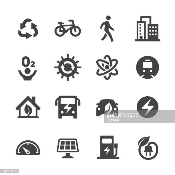 Eco-City Icons - Acme serie