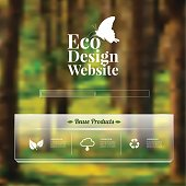 Eco design - Green and Sustainable,