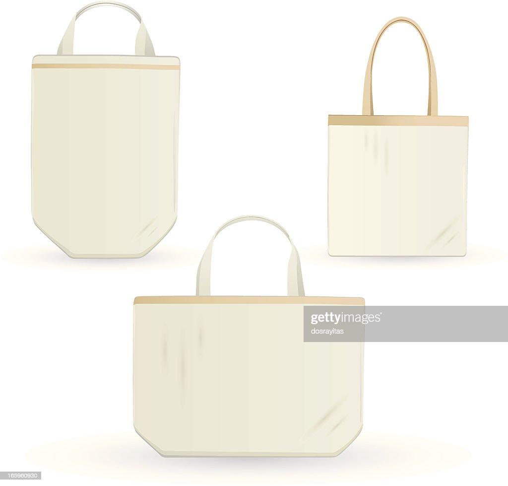 eco errands bag, design template