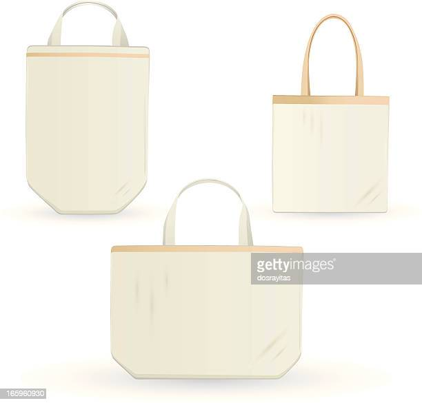 eco errands bag, design template - textile industry stock illustrations