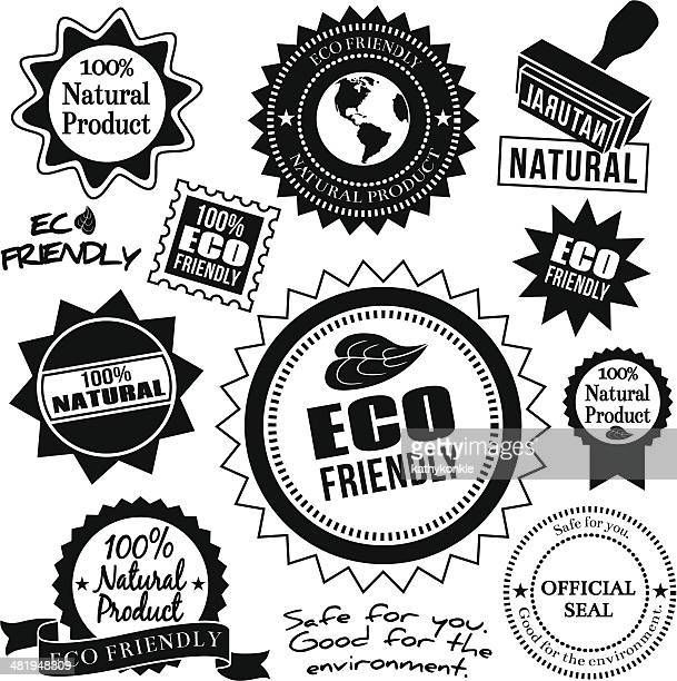 eco friendly design elements - friendly match stock illustrations