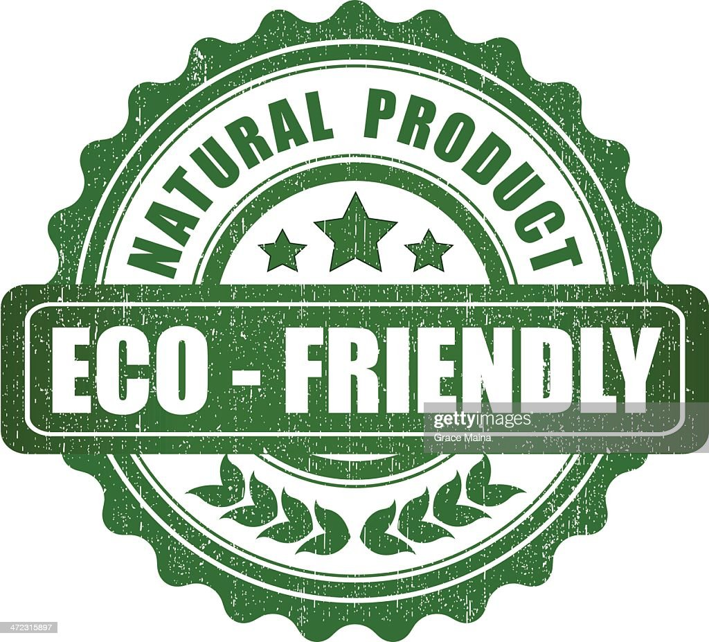 Eco friendly product sign - VECTOR