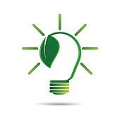 eco green energy concept,